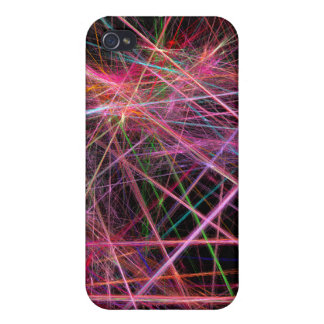 Sparkle paint splatter covers for iPhone 4