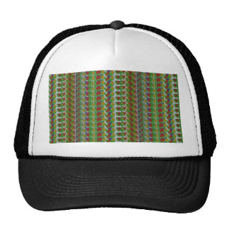 SPARKLE Pattern Pocket Template DIY add TEXT PHOTO Mesh Hat