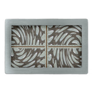 Sparkle Pearl Stone Pattern Art on Family Gifts Rectangular Belt Buckle
