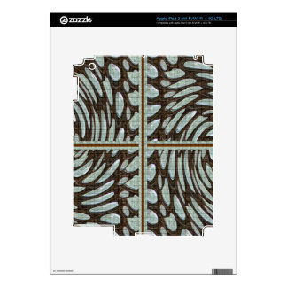 Sparkle Pearl Stone Pattern Art on Family Gifts Skin For iPad 3