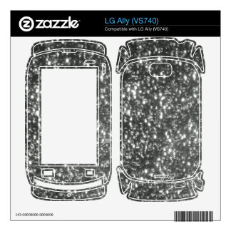 sparkle phone cases and skins skin for the LG ally