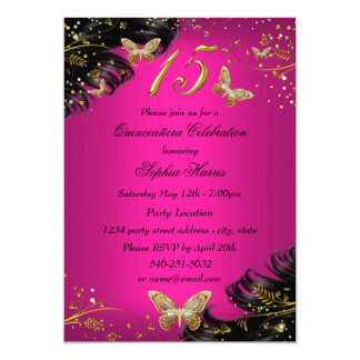 Butterfly Quinceanera Invitations Announcements Zazzle