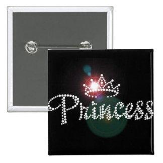 Sparkle Princess Crown Custom Pin