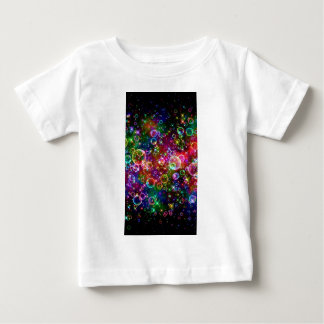 Sparkle Rainbow bubbles Baby T-Shirt