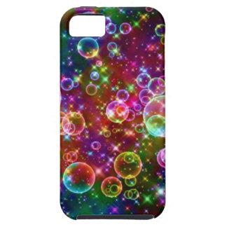 Sparkle Rainbow bubbles iPhone SE/5/5s Case