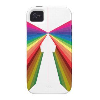 Sparkle Rainbow Spectrum Colors iPhone 4 Cover