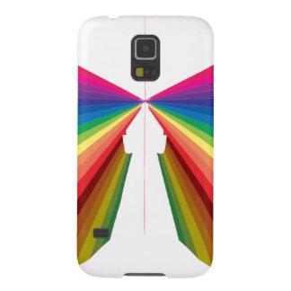 Sparkle Rainbow Spectrum Colors Galaxy Nexus Covers