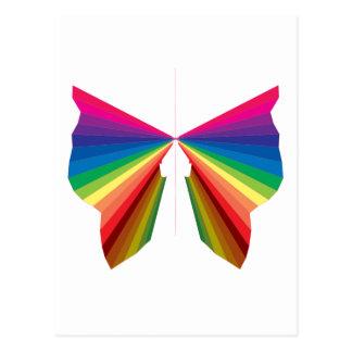 Sparkle Rainbow Spectrum Colors Postcard