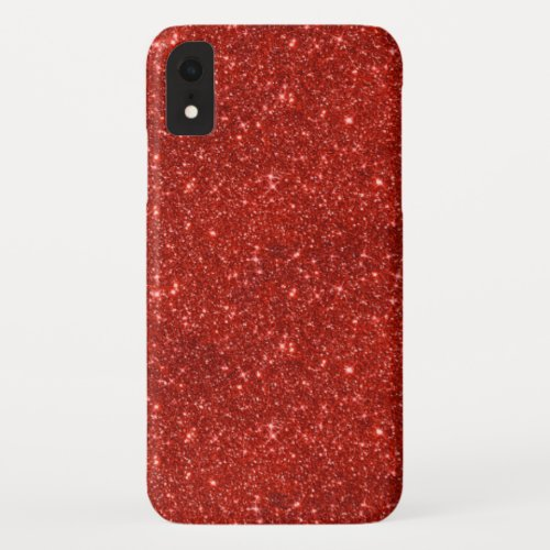 Sparkle Red Phone Case