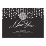 Sparkle Ring in the New Years EVE Invitation