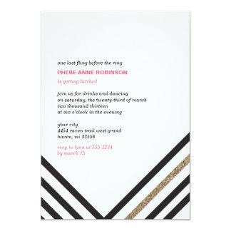 Sparkle & Shine - Bachelorette Party 5x7 Paper Invitation Card