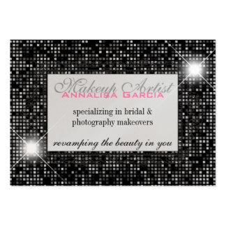 Sparkle & Shine Makeup Artist : Business Card