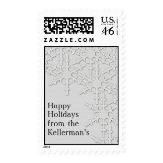 Sparkle Snowflake Design Postage Stamps