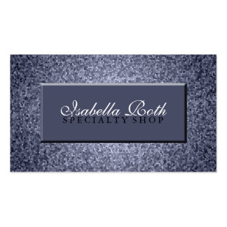 Sparkle Stain Glass Business Card Template