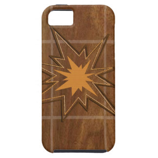 Sparkle STAR American WALLNUT Wood Panel LOWPRICE iPhone 5 Cases