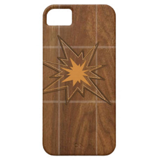 Sparkle STAR American WALLNUT Wood Panel LOWPRICE iPhone 5 Cover