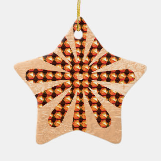 Sparkle Star Decoration Goodluck Gifts Colorful Christmas Ornaments