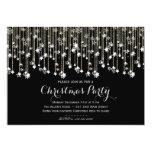 Sparkle Stars Chrismas Invitation