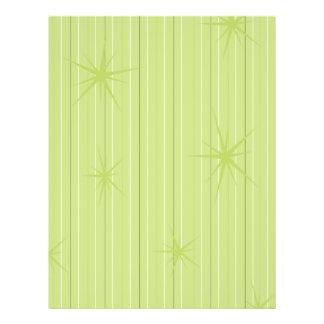 Sparkle Stars Holiday Paper Flyer Design
