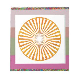 Sparkle Sun Chakra - Uses Sunflower Petal Colors Scratch Pad