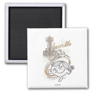 Sparkle Sunshine 2 Inch Square Magnet