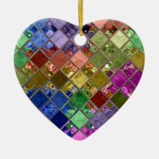 Sparkle Tiles Mosaic Art Ceramic Ornament