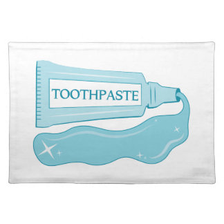 Sparkle Toothpaste Place Mat