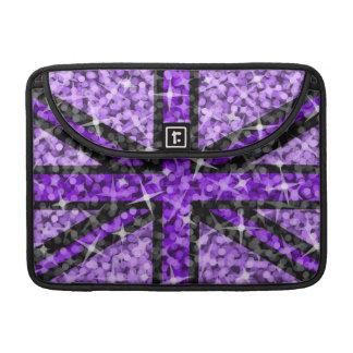 "Sparkle UK Black Purple Macbook Pro 13"" sleeve Sleeves For MacBooks"