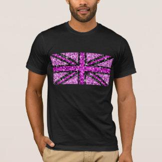 Sparkle UK Look Pink Black t-shirt black