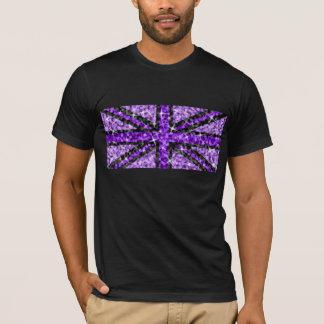 Sparkle UK Look Purple Black t-shirt black