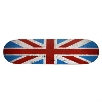 Sparkle Union Jack Skateboard