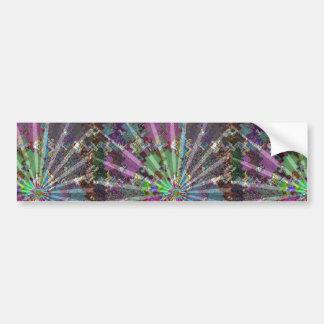 Sparkle Wave Light ReflectionsTemplate DIY gifts Car Bumper Sticker