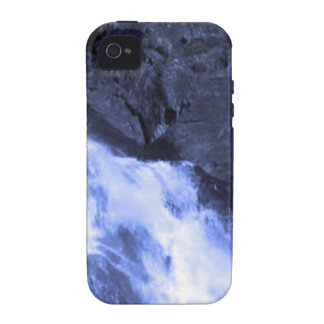 Sparkle white jet flow water from Holy River Ganga iPhone 4/4S Covers