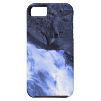 Sparkle white jet flow water from Holy River Ganga iPhone 5 Cover