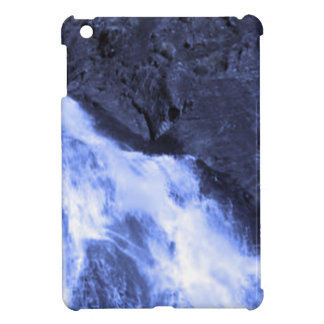 Sparkle white jet flow water from Holy River Ganga iPad Mini Covers