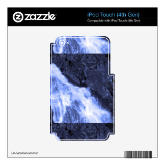 Sparkle white jet flow water from Holy River Ganga iPod Touch 4G Decal
