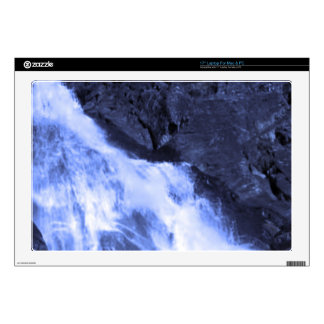 Sparkle white jet flow water from Holy River Ganga Skins For Laptops