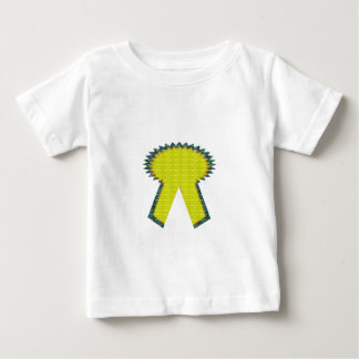 Sparkle Yellow Gold RIBBON Award NVN283 Guest ID Baby T-Shirt