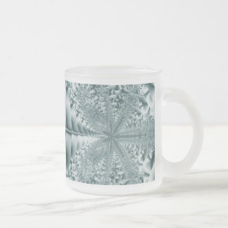 Sparkler Frosted Glass Coffee Mug