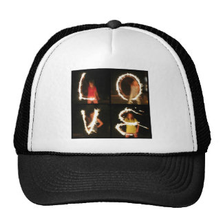 Sparkler LOVE Trucker Hat