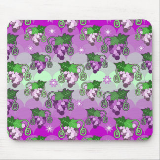 Sparkles and Grabes Scalloped Pattern Mouse Pad