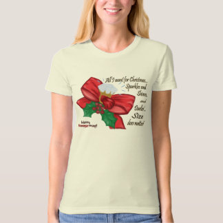 Sparkles and Shines, Bow and Ring T-Shirt