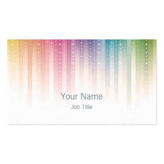 Sparkles Business Card Design