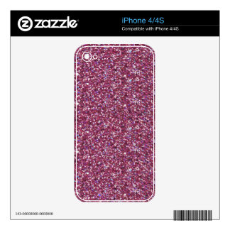 Sparkles & Glitter iPhone 4/4S skin Decal For The iPhone 4