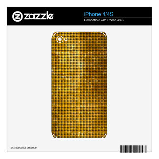 Sparkles & Glitter iPhone 4/4S skin iPhone 4S Skins