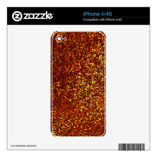 Sparkles & Glitter iPhone 4/4S skin Skins For iPhone 4S