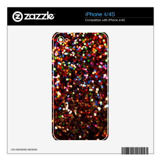 Sparkles & Glitter iPhone 4/4S skin Skins For The iPhone 4