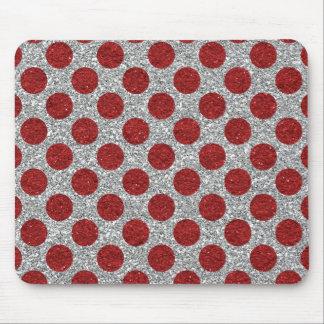 Sparkles & Glitter polka dots pattern Mousepad