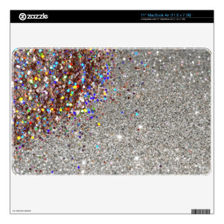 Sparkles & Glitter Skin For Laptop MacBook Air Decals