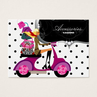 Sparkles of gold pink of jewels of purse of access business card